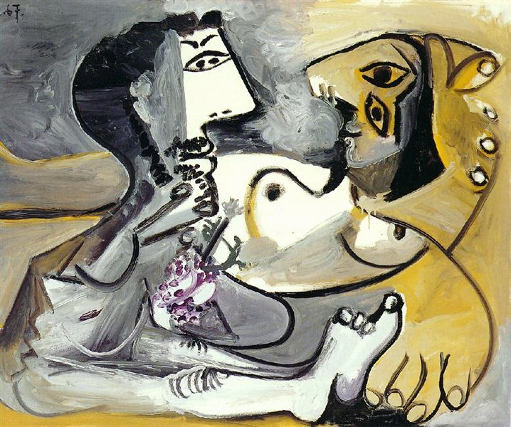 Naked Man and Woman, 1967