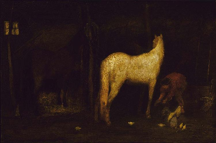 In the Stable, 1900
