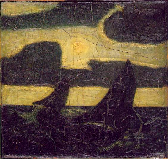 Moonlit Marine, c 1908