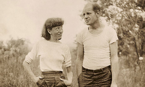 Pollock and Krasner in Springs.