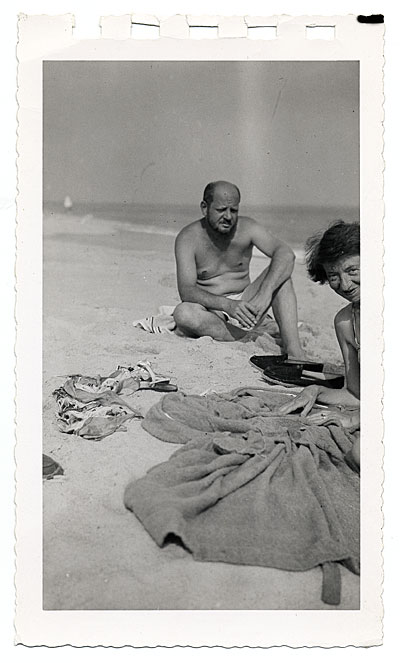 Pollock and Krasner at the beach