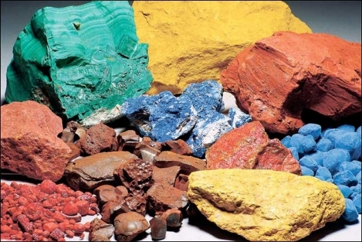 Colors available to the Ancient Greeks.