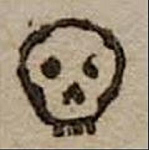 The Alchemical Symbol for Caput Mortuum