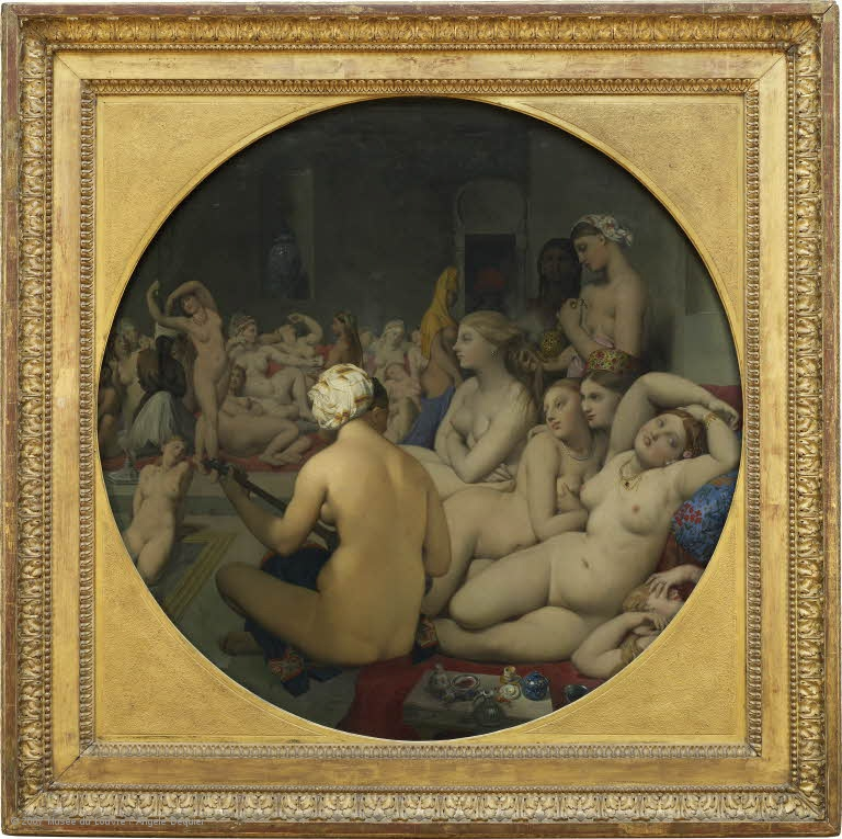 Jean Auguste Dominque Ingres, The Turkish Bath