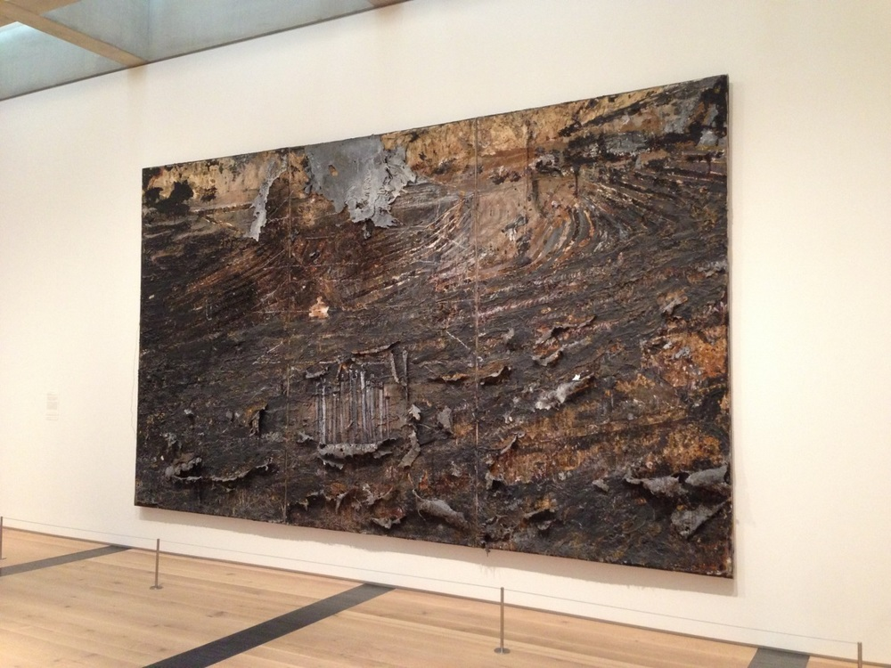 Anselm Kiefer, Burning Rods,  1984 - 1987