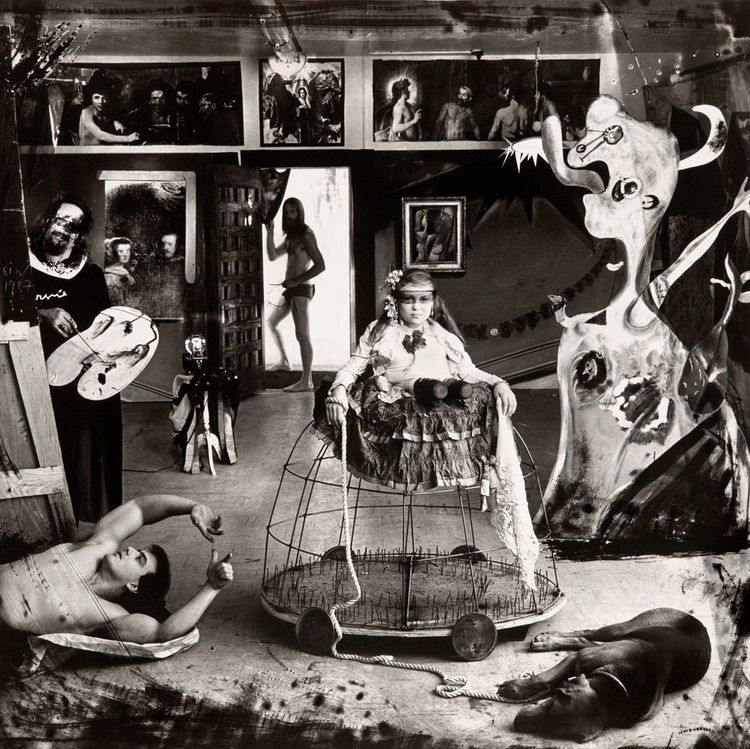 Joel-Peter Witkin — Christopher Hall