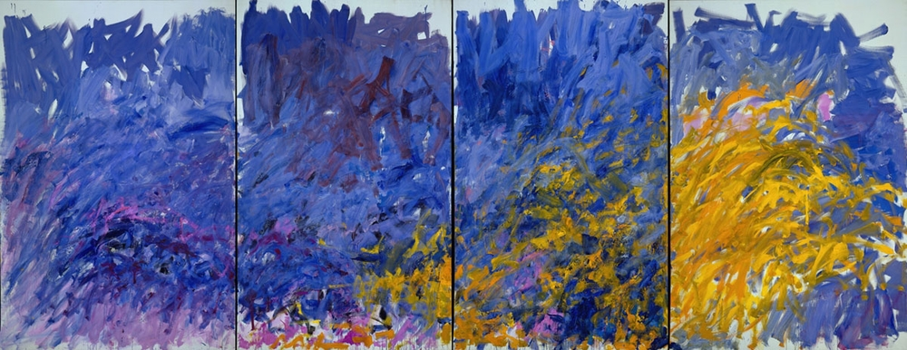 Joan Mitchell,  Edrita Fried , 1981