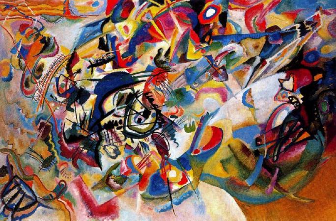 Wassily Kandinsky, Composition VII,1913.