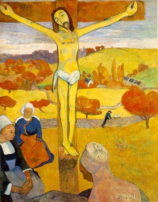 Paul Gauguin,  The Yellow Christ , 1889.