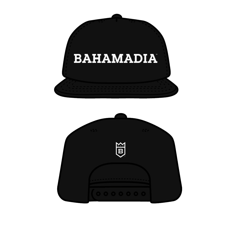 Bahamadia Logo Cap     ( One Side Fits All)