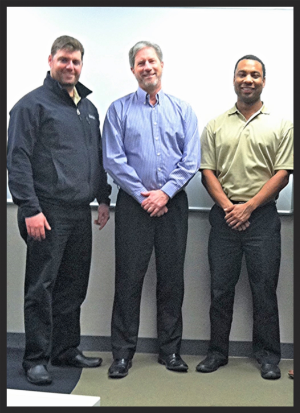 VP of Oklahoma Jared O'Malley, Save-A-Lot VP of License Stores Brandon Thompson, and VP of South Carolina Marcus Scarborough