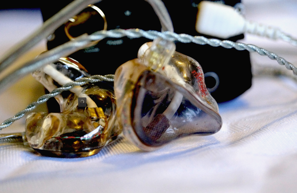 The single balanced armature (BA) driver custom earphones from M-Fidelity have good sound quality but is the price of the earphones to much in todays custom in ear monitor market.