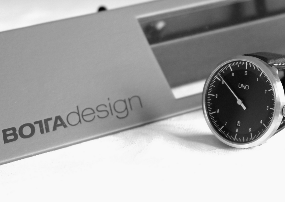 Botta Design Carbon Uno Watch Review