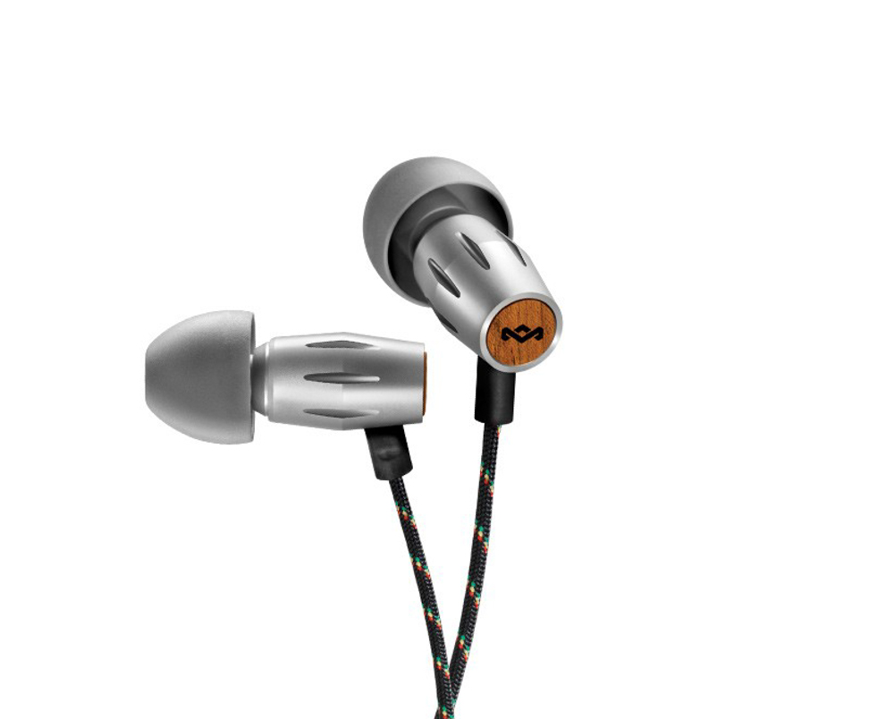 The House of Marley legend earphones are designed using ethical materials and are made from the company behind Bob Marley's Estate.