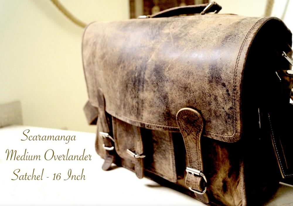 Scaramanga Overlander Bag
