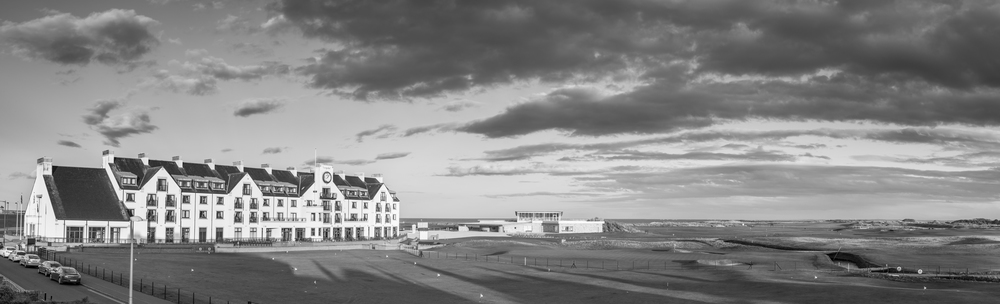 Panorama of Carnoustie Golf Course and Hotel - Taken with the Sigma DP2