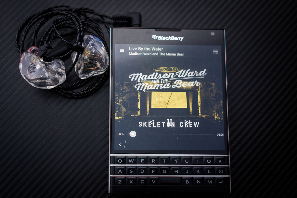 Perfectly balanced - Very nice Performance through the Blackberry Passport & Minerva Customs