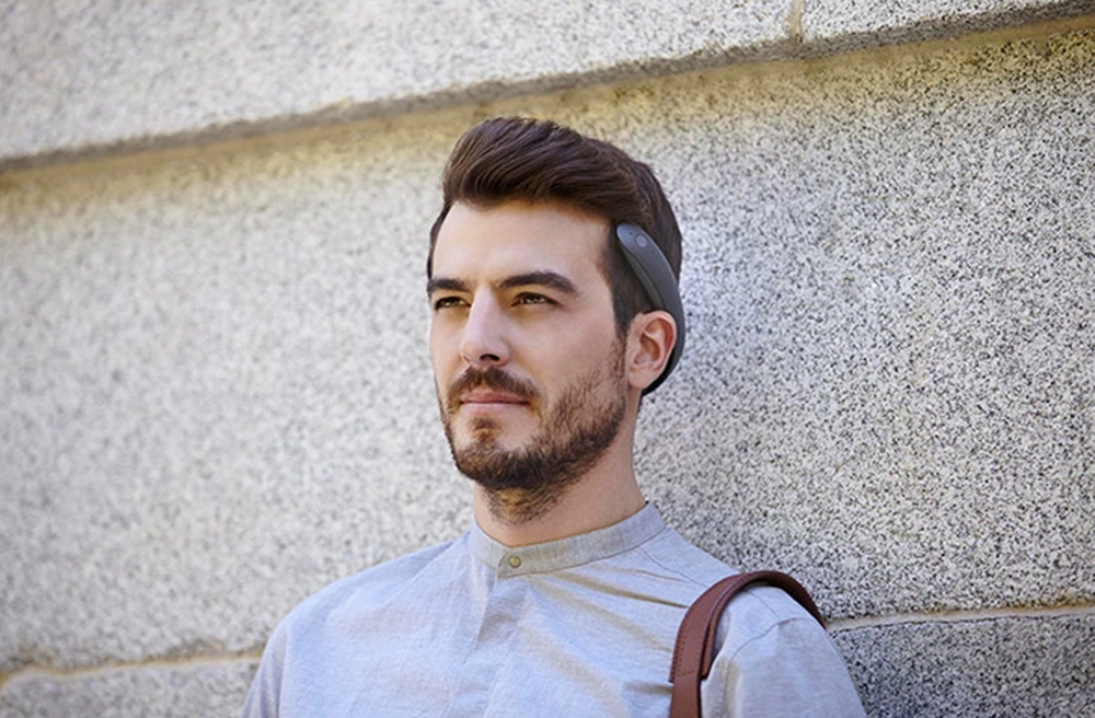 Batband Headphones - A new bone conduction headphone.