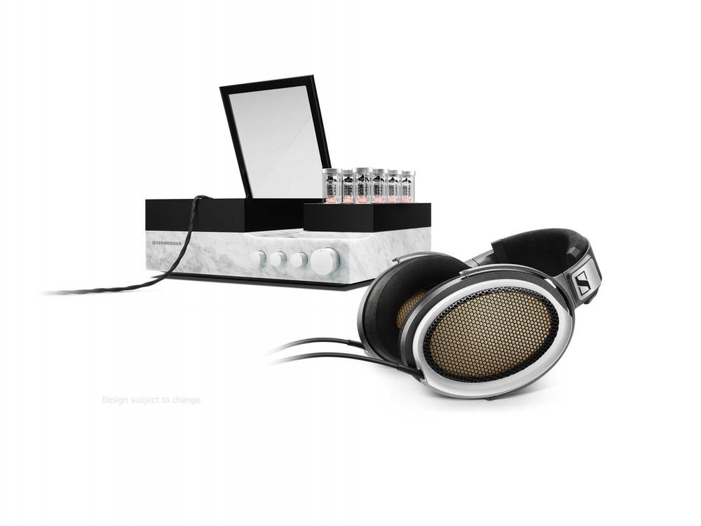 Sennheiser Orpheus headphones and bass unit.