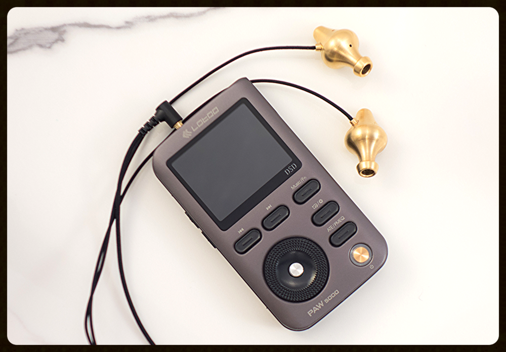 Lotoo Paw 5000 DAP with Final Audio Design Piano Forte VIII IEM