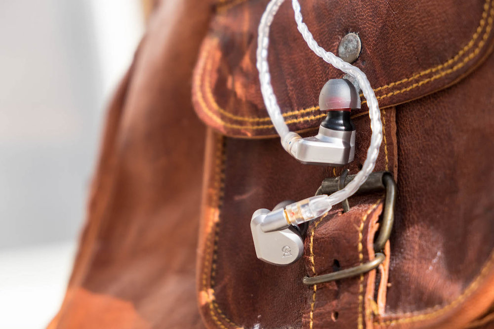 The Campfire Audio Vega earphones.