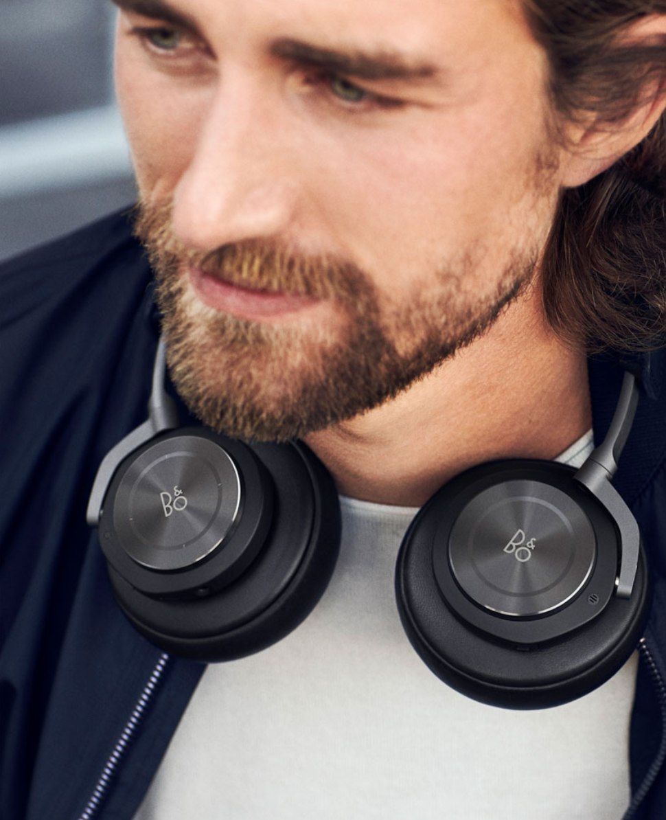 The Beoplay H9 headphone from Bang & Olufsen is also available in black.