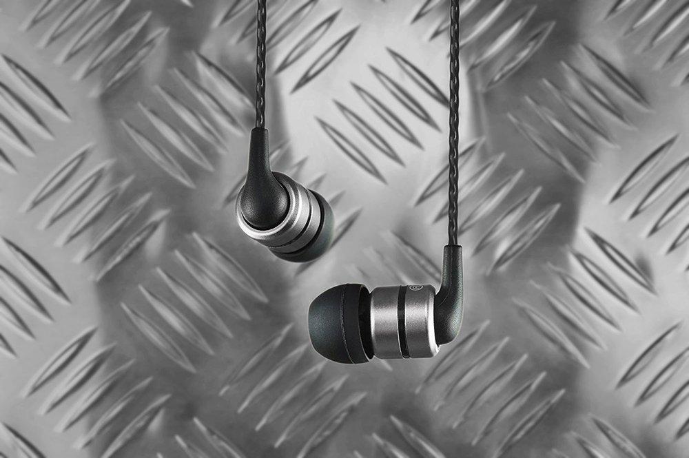 The SoundMagic E80 in-ear headphones.