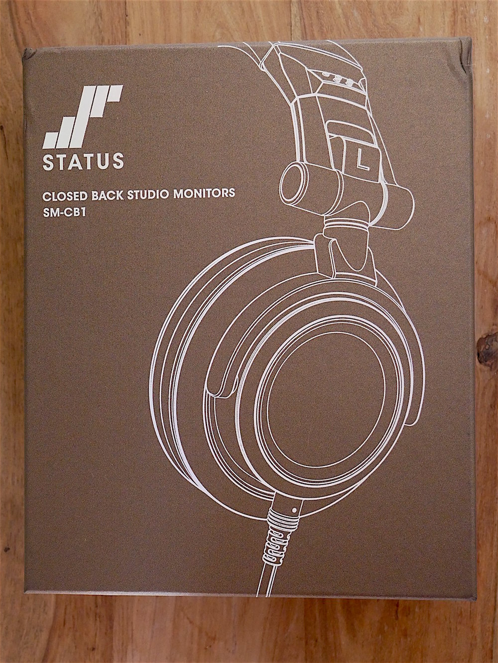 Box and Packaging for the Status Audio CB-1 Headphone