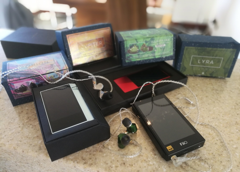 Review time Astell & Kern AK70, AKJR and the Fiio X5 3rd Gen all tested with the Campfire Audio IEM's.  An Audiophiles Dream.
