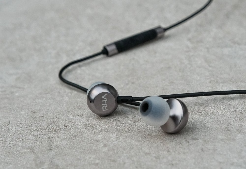The RHA MA650 earphones.
