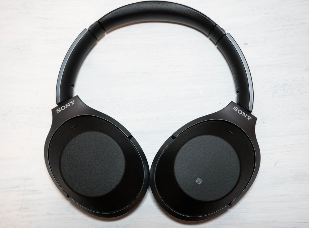 The Sony WH-1000xm2 noise canceling headphones.