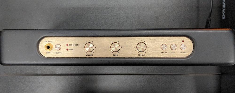Marshall Stockwell Bluetooth Speaker.