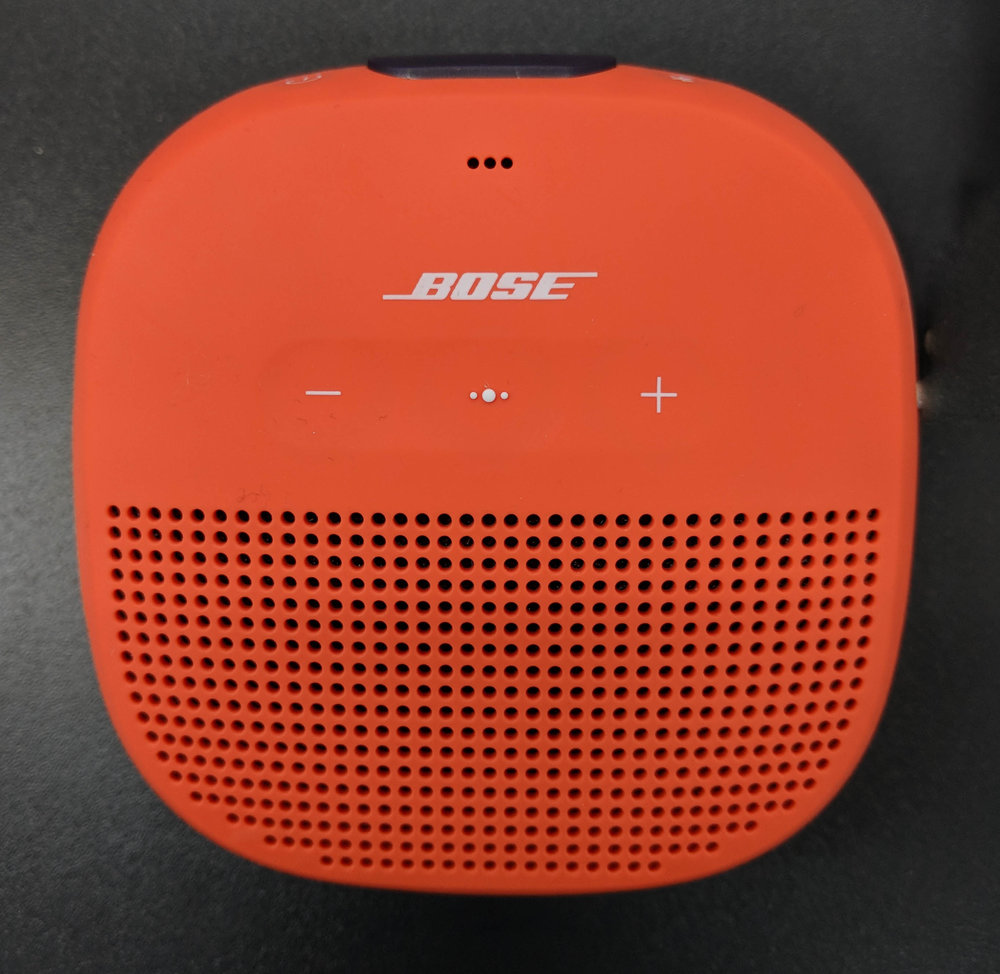 Bose Soundlink Micro Bluetooth Speaker in Orange. Review by Audiophile On.