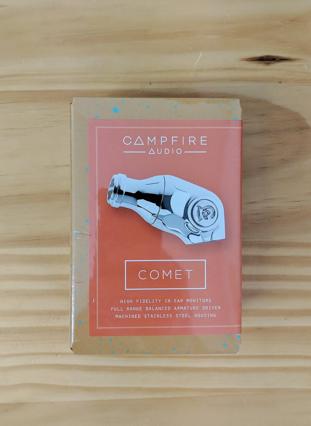 Box for the Campfire Audio Comet.