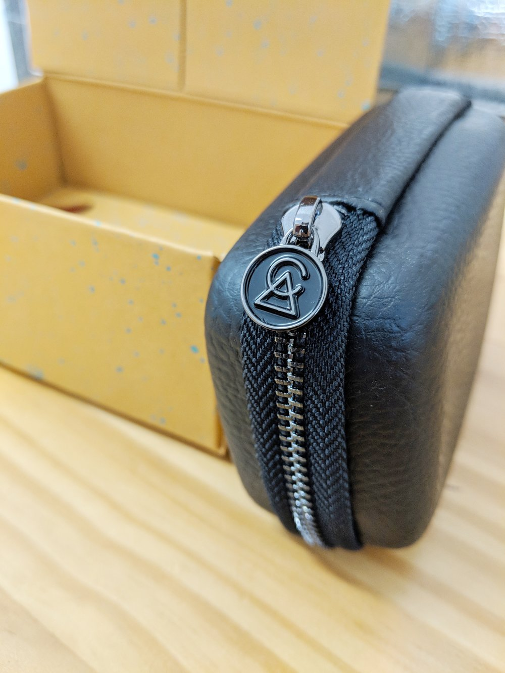 Carry case and packaging for the Campfire Audio Comet.