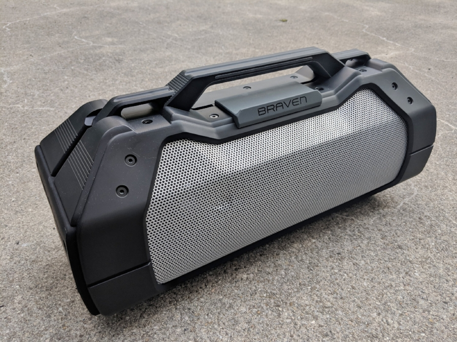 Braven XXL Bluetooth speaker one of the loudest wireless speakers we have ever reviewed