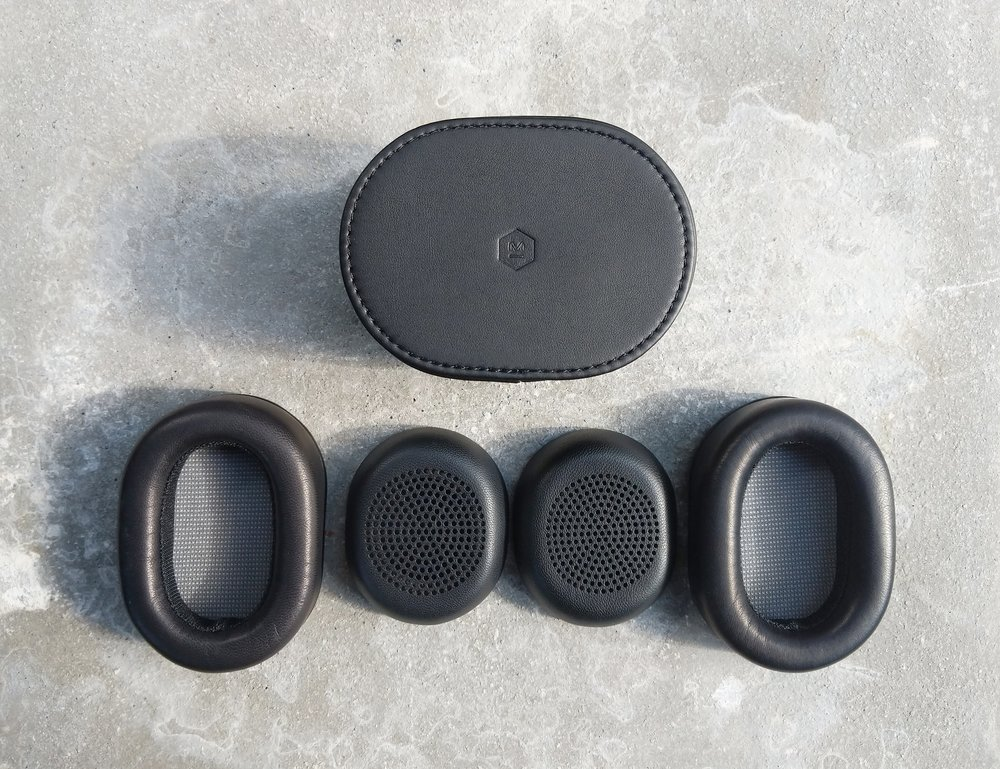 Master & Dynamic MW50 accessories ( 1 large and 1 small earpad set)