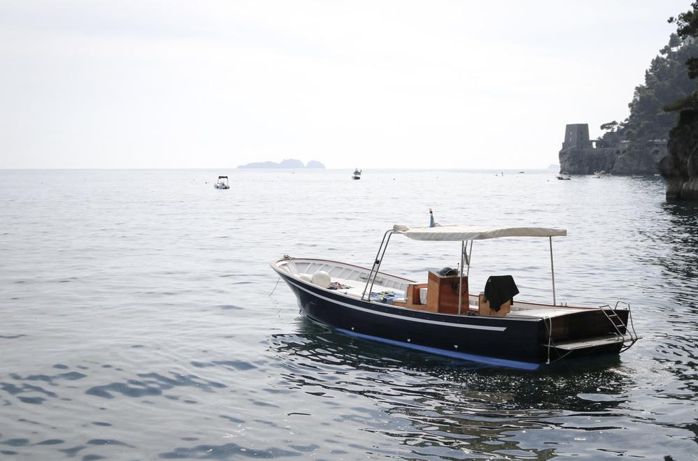 Positano boat