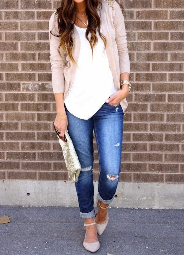 Lightweight Cardigan in Oatmeal