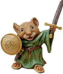 You can tell Redwall will be a happy ending with characters like this.