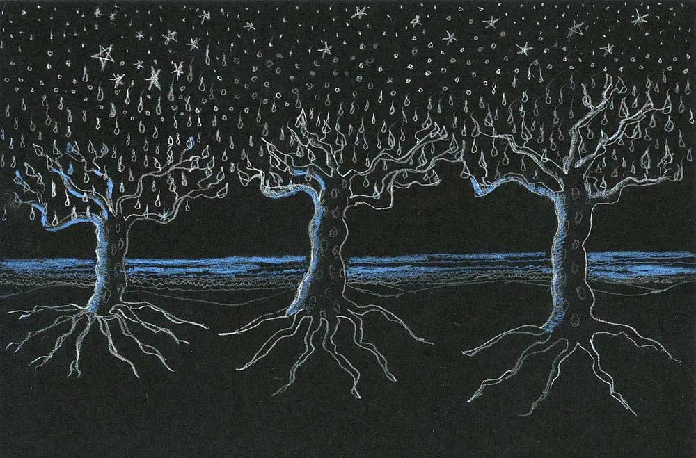 Black Sky Trees