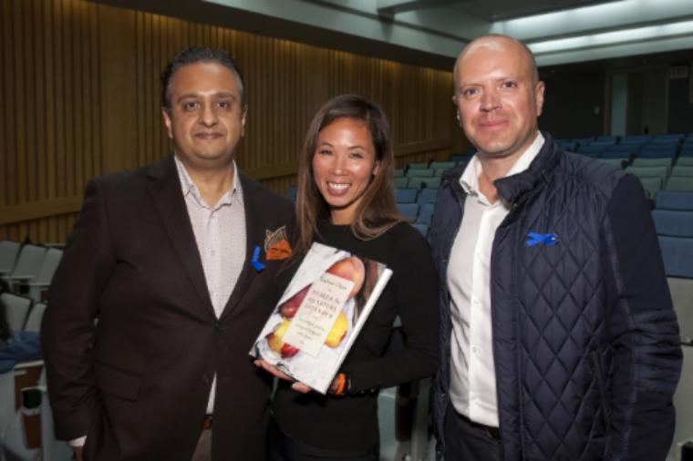 Dr. Manoj Raval, Leanne Chan, and Darren Pedersen.