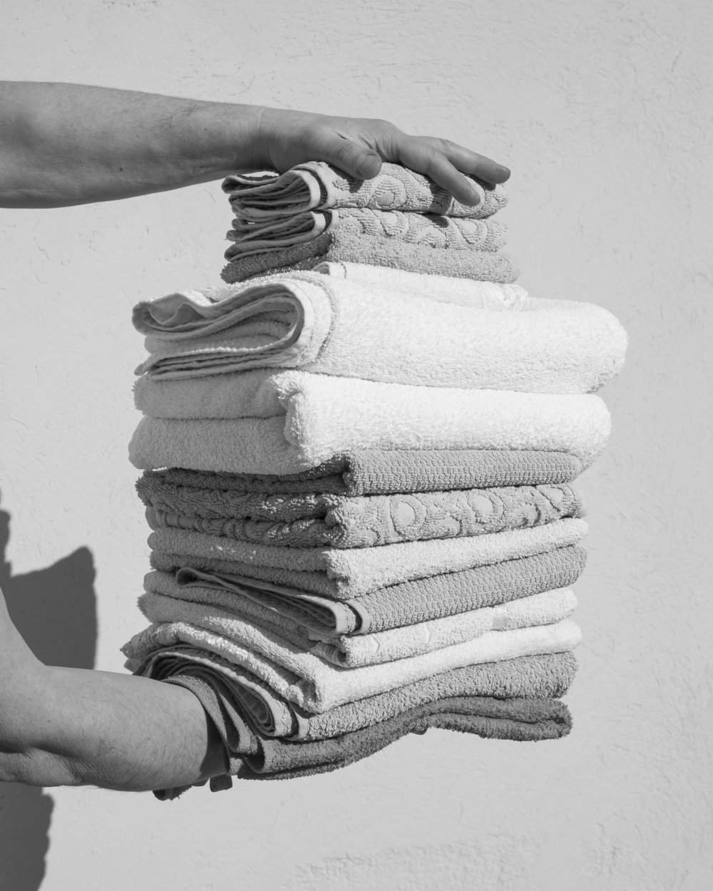 Folded Towels, 2018
