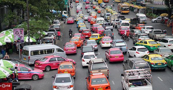 Thai Taxi Traffic