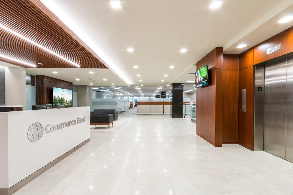16026 Commerce Bank 2nd Floor // V Three Studios