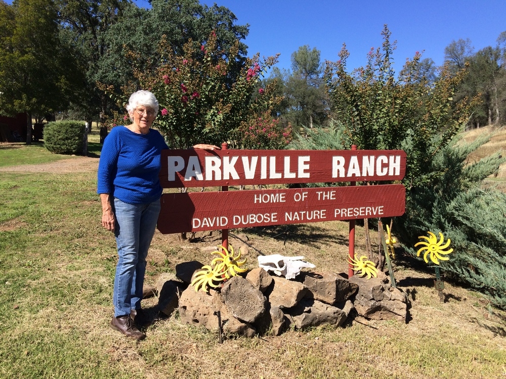 Sandy DuBose at her Parkville Ranch