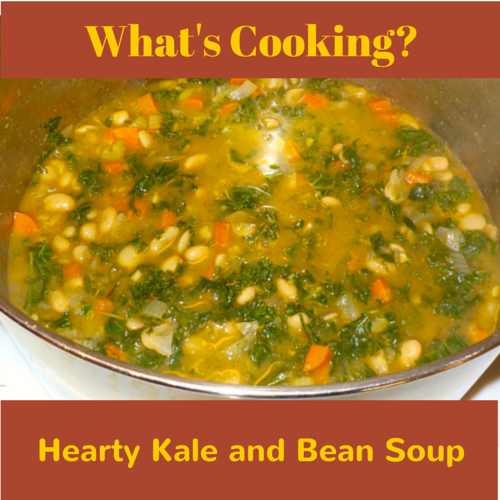 Hearty Kale and Bean soup