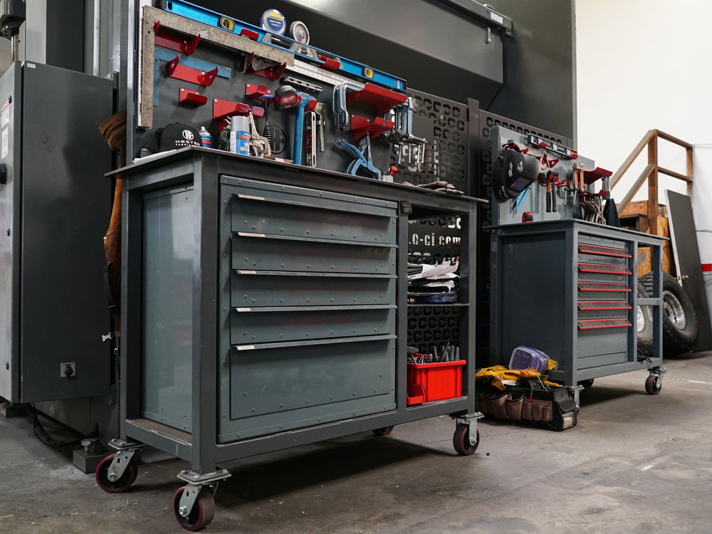 FABRICATOR WORK STATIONS