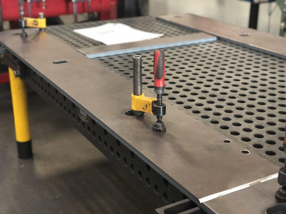 BLUCO MODULAR FIXTURING TABLE