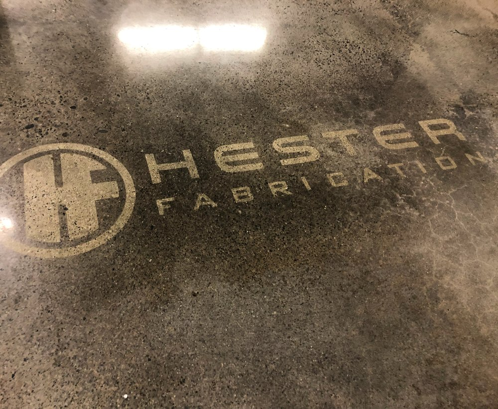 POLISHED FLOOR LOGO
